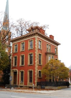 The Billmeyer House, also known as the York House, located at 225 East Market St. in York, PA, was built in 1860