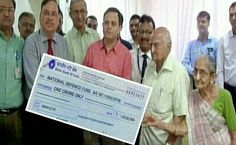 Elderly Couple Donate One Crore Rupees of their Lifetime Saving Towards National Defence Fund   In a gesture that will melt your heart and lift-up the spirit of our soldiers the elderly couple from Bhavnagar (Gujarat) today set an example by donating towards National Defence Fund.  Janardanbhai who is a retired SBI worker and his wife Padmaben Bhatt donated Rs 1 crore of their lifetime savings to National Defence Fund.  The National Defence Fund was set up for voluntary donations and is used…