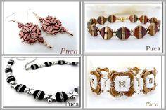 Új gyöngy és ingyenes minták -Tinos® par Puca®!