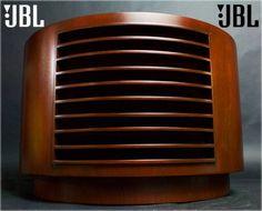 JBL D130 +米松合板円形キャビネット