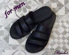 Handmade leather sandal ACHILLES ...... ...... eternal black ......