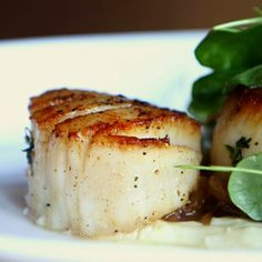 Pan-seared scallops: easier than you think!