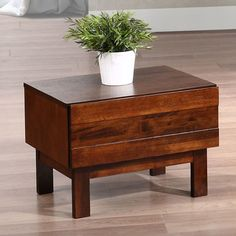 Kaylen 1-drawer Nightstand contemporary-nightstands-and-bedside-tables