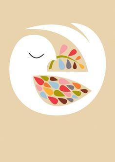 Bird of peace vintage illustration - paint and art Illustration Mignonne, Illustration Art, Vintage Bird Illustration, Vintage Illustrations, Peace Dove, Peace Art, Bird Art, Folk Art, Mosaics