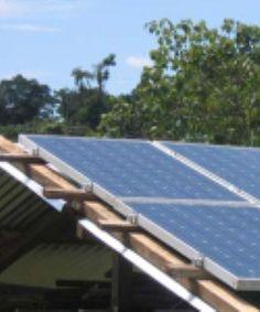 Solar Panel System Details  removable panels for over deck