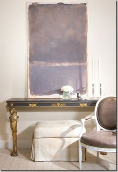 Things That Inspire: Art and consoles-caldwell-Beebe design-