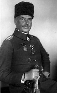 Otto Liman von Sanders (February 17, 1855 – August 22, 1929) was a German general who served as adviser and military commander for the Ottoman Empire during World War I. In 1918, the last year of the war, Liman von Sanders took over command of the Ottoman army during the Sinai and Palestine Campaign, replacing the German General Erich von Falkenhayn who had been defeated by British General Allenby at the end of 1917.