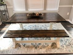 Farmhouse Table, Woods, Tables, Dining Table, Rustic, Diy, Furniture, Home Decor, Mesas