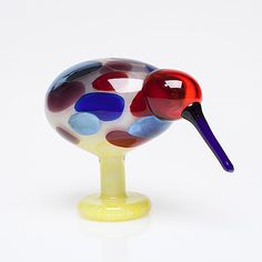 Wine Glass, Glass Art, Lassi, Glass Birds, Bird Art, Primary Colors, Great Gifts, Objects, Pottery
