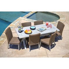7-Piece Lehane Patio Dining Set