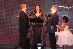 Fran Drescher marries three gay couples!
