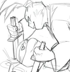 sexualbaraturtles:  What can I say, I like playing with tensions ~ (small preview of a project)