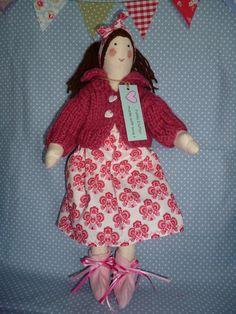 Rag Doll Handmade Tilda Design Decoration Low Price Textile Doll Careful Ellie