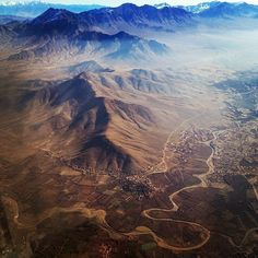 25 Incredible Views From Plane Passengers' Windows, Collected By an Airline Pilot | Atlas Obscura