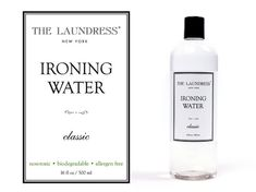 "The Laundress Bügelwasser ""Ironing Water"" - Bedandroom Ironing Water, Biodegradable Products, Shampoo, Bottle, Financial Statement, Nursing Care, Flask, Jars"
