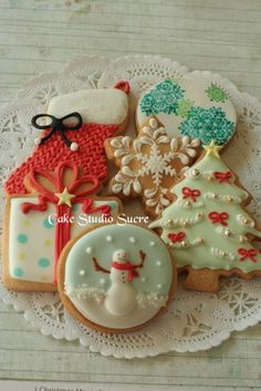 Christmas cookie decorating ideas :)