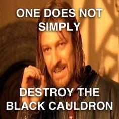 The Black Cauldron!