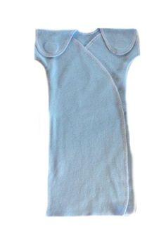 NICU Preemie Solid Color Gowns – Lots of Colors! (Small Preemie 3-6 Pounds, Light Blue) @April Cochran-Smith Cochran-Smith Cochran-Smith Fabis Baby Store