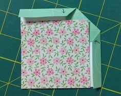 Fold binding in half