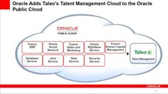 Oracle hits the jackpot with its cloud-based talent management system Taleo