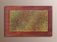3D Wall Panel   Wood Wall Sculpture  Organic by JeemadoDecor