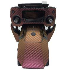 Professional Carbon Fiber Skin Stickers Remote Control Stickers Accessories for DJI Mavic Pro Drone. Click visit to buy