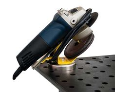 Magnetic Base for your four and a half inch angle grinder.