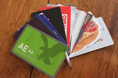 Keep all your store loyalty cards on a key ring