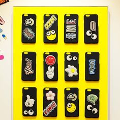 """""""Details from the #AnyaHindmarch @chaosfashiondotcom #StickerSHOP pop-up at #Hankyu Umeda, open until 21st April."""""""