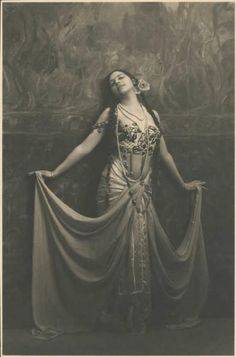 Mata Hari by Emilio Sommariva, 1912. This is one guest whom Lark would have…