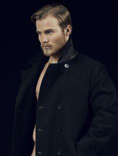 Eric Van Beek beard model