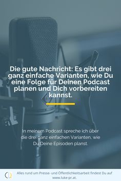 Übung ist alles.  #Podcast #Contentmarketing #Audio #Video Interview, Public Relations, Content Marketing, Audio, Psychics, Messages, Tips And Tricks, Things To Do, Inbound Marketing