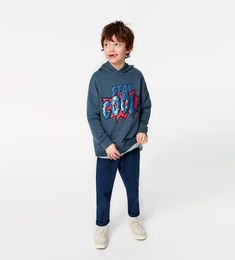 ZARA - KIDS - 'COOL' SLOGAN SWEATSHIRT