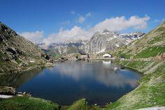 Col du Grand Saint-Bernard. Valais.