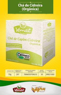 Chá Vemat Cidreira Orgânica 13gr