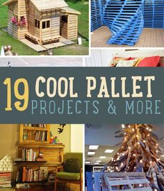 Looking for cool pallet furniture projects?