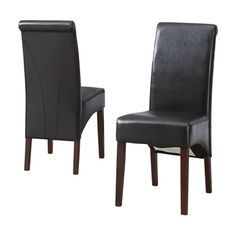 Simpli Home WS5134 Avalon Deluxe Parson Dining Chair (Set of 2)