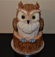 Owl by Monika Bajanová