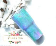 Hey, I found this really awesome Etsy listing at https://www.etsy.com/listing/478898587/glitter-yeti-painted-yeti-rtic-tumbler