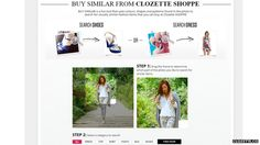 clozette.co Users can create their own virtual wardrobes or raid through others' to find the latest fashion trends