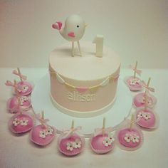 bird birthday cake - Google Search