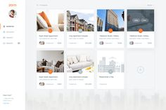 Dribbble - by Balkan Brothers Ui Ux Design, Layout Design, Fluent Design, Webpage Layout, Card Ui, Dashboard Ui, Apartment Complexes, Cozy Apartment, Ui Design Inspiration