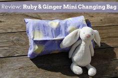 Ruby & Ginger Mini Changing Bag Review Changing Bag, Fun Projects, Dinosaur Stuffed Animal, Throw Pillows, Mini, Bags, Animals, Handbags, Toss Pillows