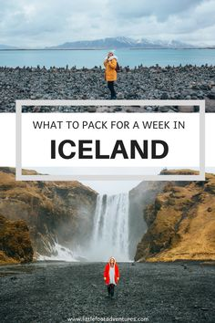 Are you currently planning your trip to Iceland and worried about what to wear? This quick list will help you organize your packing list for Iceland and make you less stressed for your big adventure! It's adaptable to any season. Iceland Travel Tips, Europe Travel Tips, European Travel, Travel Guides, Travel Destinations, Packing List For Travel, Packing Tips, Hotels, Worldwide Travel