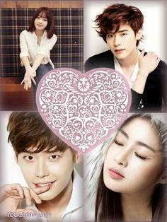 Shin Dong Woo and Han Soo Jin (Lee Jong Suk and Kang So Ra)