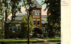 Parlin Library, Canton, Illinois