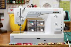Happy Monday! A couple years ago I bought a new sewing machine. Since then I have had a number of questions about how well I like it. So, I thought today I would finally post a proper review of the ma