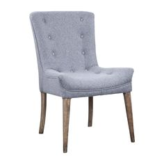 FLORINE DINING CHAIR GRAY/OAK - Chairs - Dining Chairs - Dining - HD Buttercup Online – No Ordinary Furniture Store – Los Angeles & San Francisco