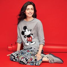 Disney Mickey Soft-and-Cozy PJ Set in Misses. Avon. Full-length angel fleece polyester pants and long-sleeve cotton/polyester jersey top. Available in sizes S-3X. NEW! Regularly $29.99.  #CJTeam #Avon #Style #Sale #Fashion #New #Disney #Mickey #PJ #Pajamas FREE shipping with any $40 online Avon purchase.  Shop Avon fashion online @ www.thecjteam.com.