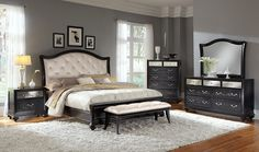 Marilyn Bedroom Collection - Value City Furniture